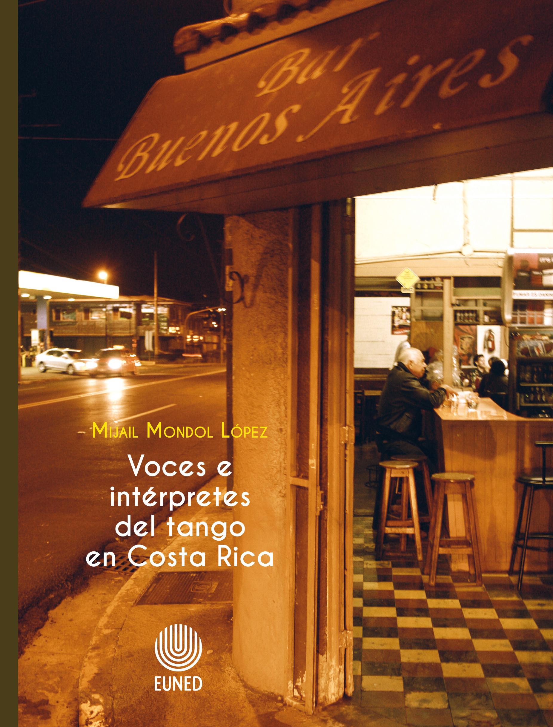Voces e intérpretes del tango en Costa Rica