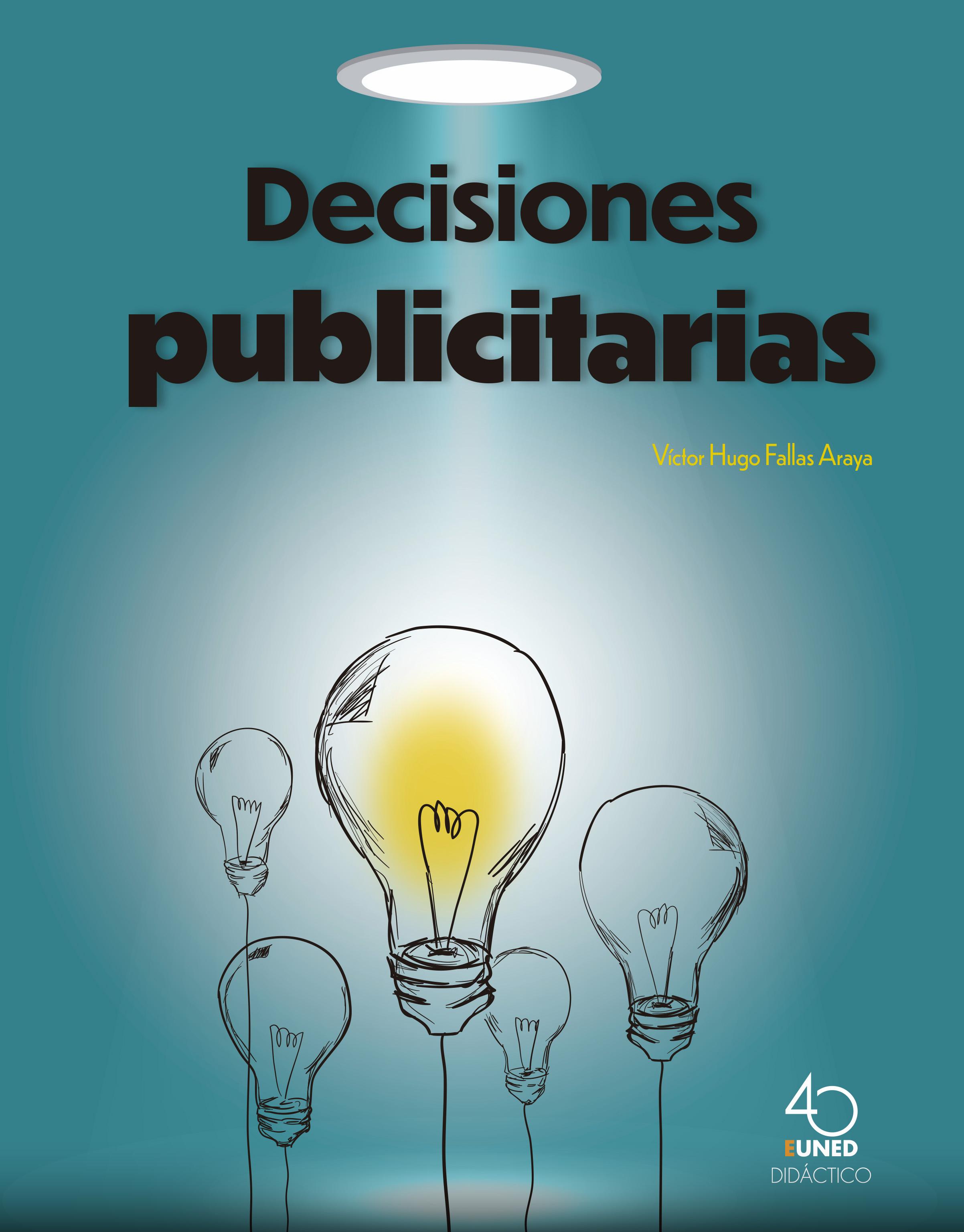 Decisiones publicitarias