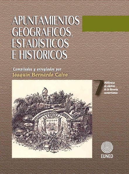 Apuntamientos geográficos, estadísticos e históricos